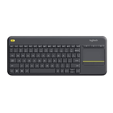 Logitech K400 Plus Teclado Inalámbrico con Touchpad para ...