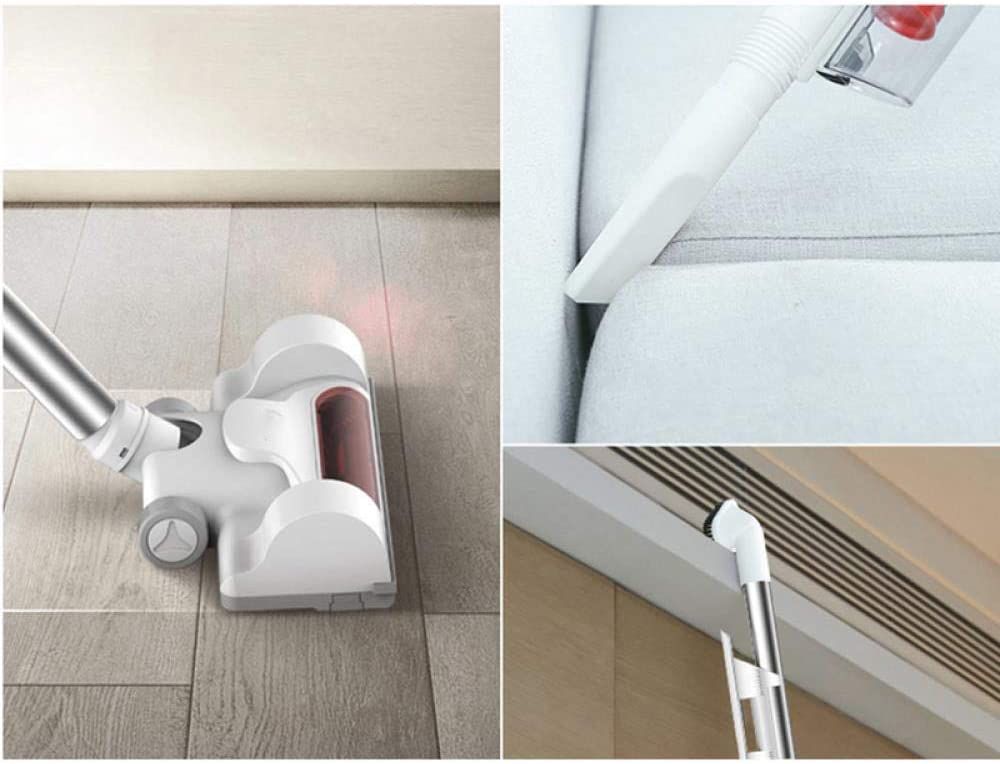LIUCHANG Ultra Quiet Mini Accueil Rod Aspirateur Portable collecteur de poussière Accueil Aspirateur à Main Aspirateur Blanc (Couleur: Blanc) liuchang20 (Color : White) White