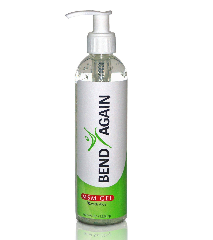 Bend Again MSM with Aloe Vera Top Pump Gel - 8 oz (226 g)