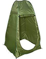 LIVIVO Portable Instant Pop Up Tent Outdoor Camping Toilet Dressing Shower Changing Tent & Toilet Privacy Room For Camping Beach, Caravan Picnic Fishing And Festivals Holidays