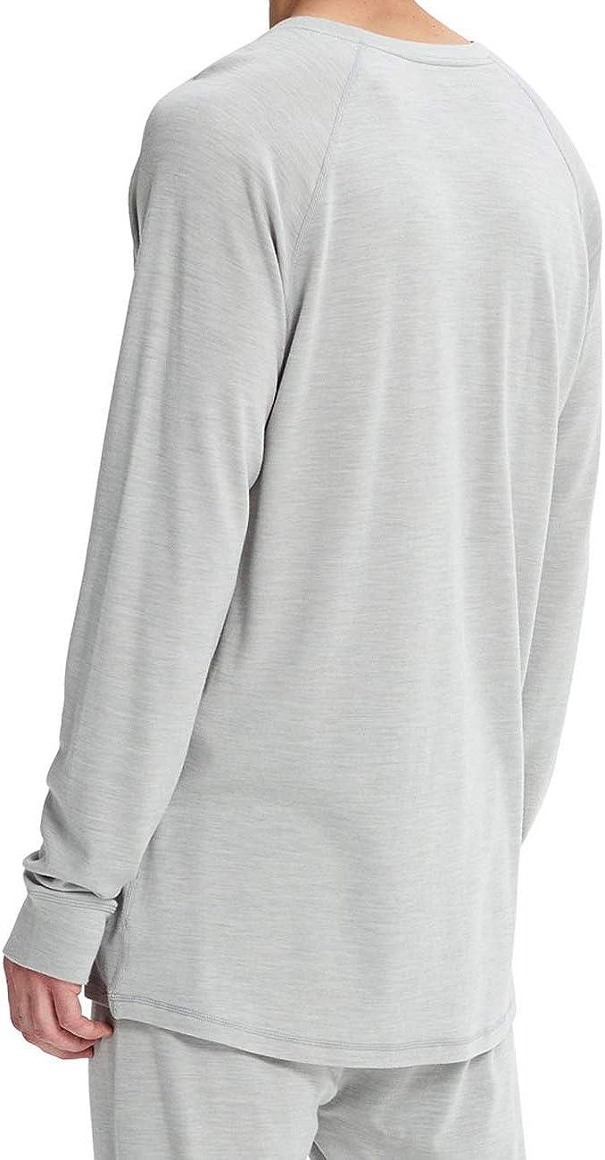 Montane Herren Razor Langarm T Shirt Outdoor Sport Top Funktionsshirt Grau