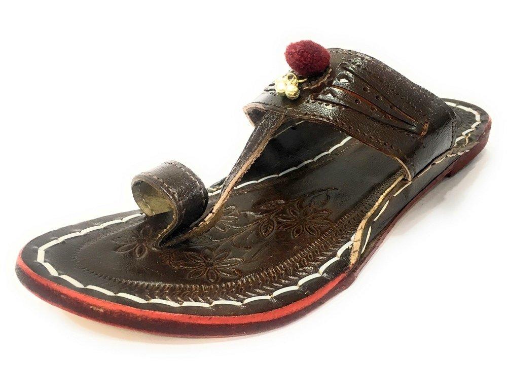 Step n Style Kolhapuri Slipper Shoes Ethnic Shoes Casual Jooti Flat Shoes Flip Flops
