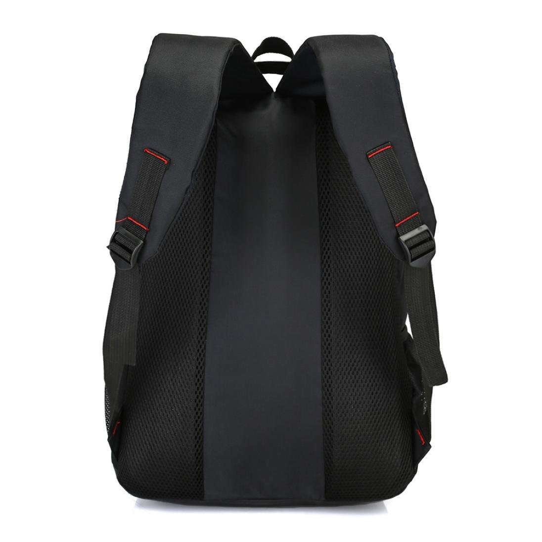 Clearance Sale Men Nylon Backpack Solid Color Men Travel Student School Laptop Bag ZYEE