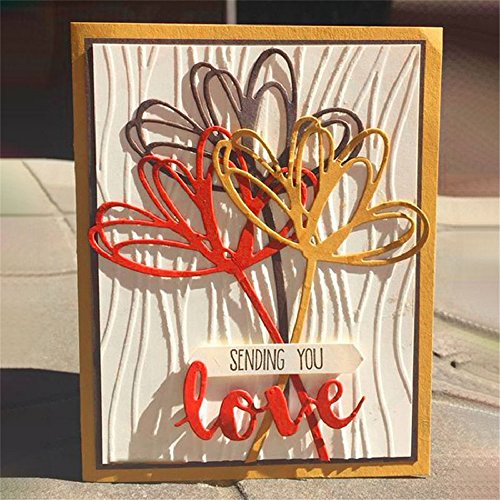 TTLIFE Sunshine Heart Flower Metal Cutting Dies Embossing Stencil Scrapbooking Template Punch Craft