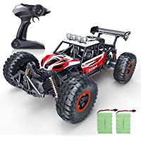 RC Car, SPESXFUN 2020 Newest  1/16 Scale High Speed Remote Control Car, 2.4Ghz Off Road RC Trucks with Two Rechargeable Batteries, Electric Toy Car for All Adults & Kids