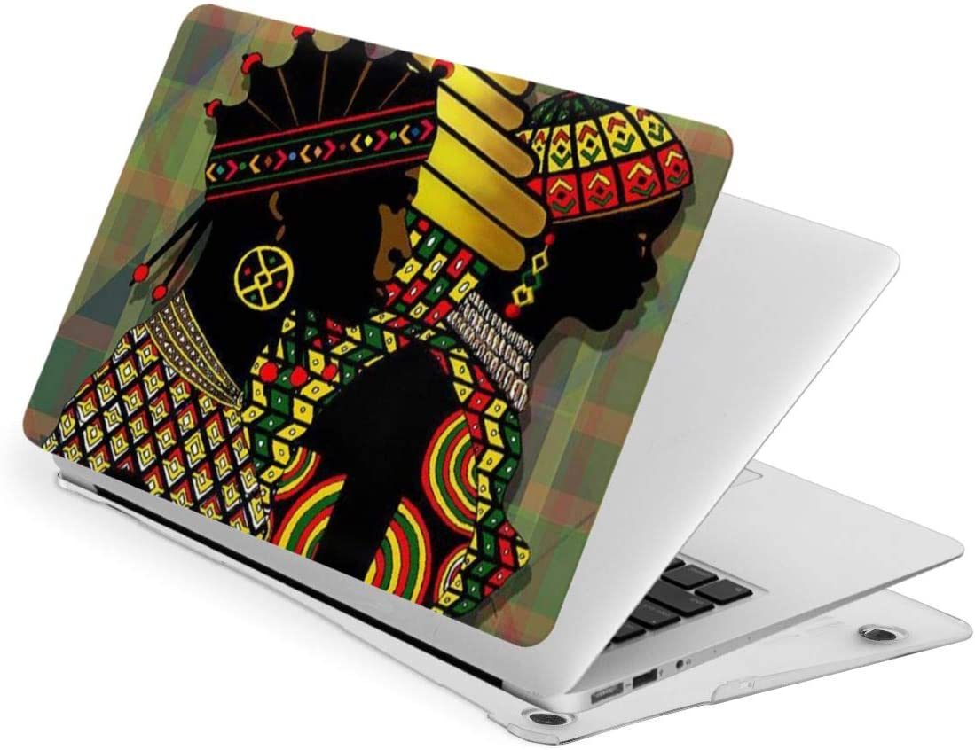New Air13 // Air13 // Pro13 // Pro15 Laptop Case for MacBook African Women Black Afro Girl Laptop Computer Hard Shell Cases Cover
