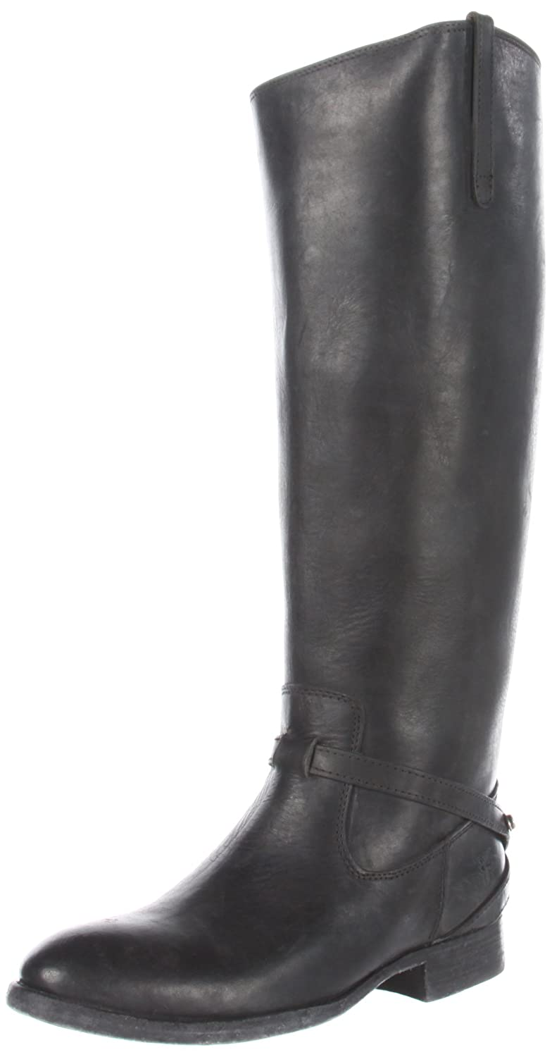 FRYE Women's Lindsay Plate Knee-High Boot B006NYP1O2 11 B(M) US|Black Stone Antique Leather-76975