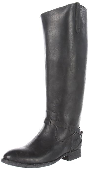 Amazon.com | FRYE Women\'s Lindsay Plate Knee-High Boot | Knee-High