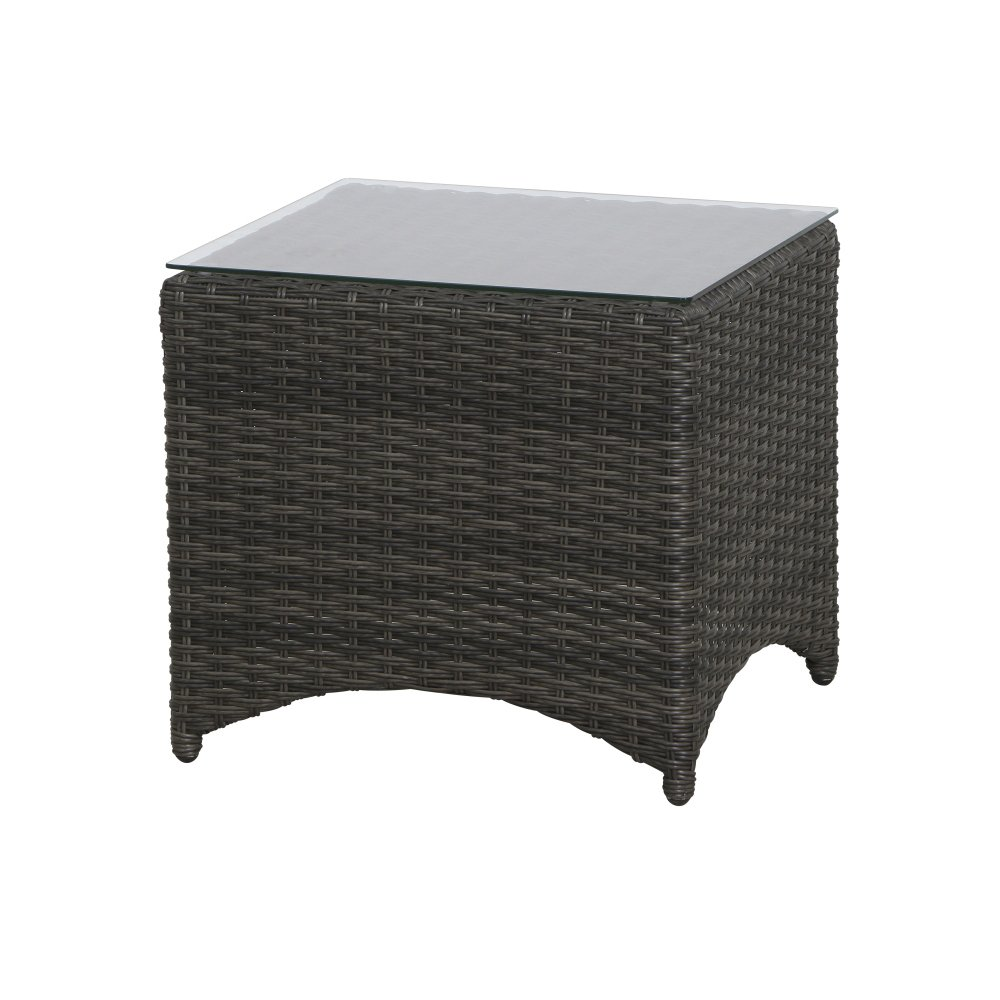 Siena Garden porto tavolino, plastica, bronzo/antracite, 49x 49x 45,5cm, 357741