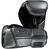 Hayabusa Fightwear Tokushu Regenesis Boxing Training Gloves (Steel, 16 oz.)