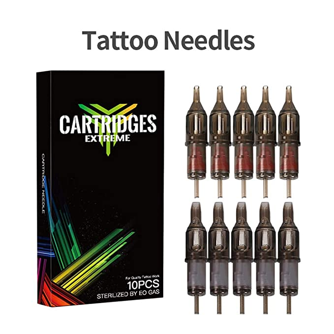 ZWEN Kit de Tatuaje Profesional Completa Máquina Rotatoria del ...