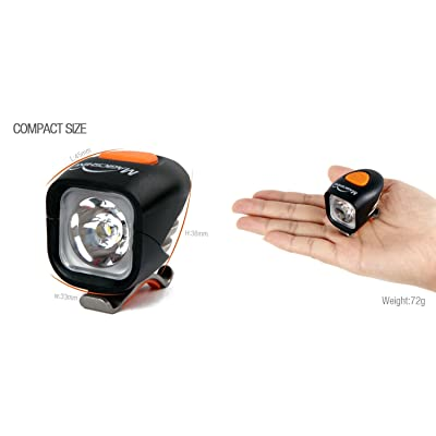 Éclairage avant rechargeable LED, 1200 lumens Magicshine MJ-900