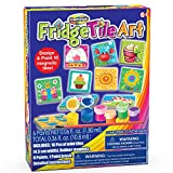 mini fridge kids - Creative Kids Magnetic Mini Tile Art – DIY - Make Your Own Paint Art Craft Set for Kids - Includes 10 Mini Tiles w/Rubber Magnets 6 Colorful Paint Pots 1 Paint Brush And Detailed Instructions Age 6+