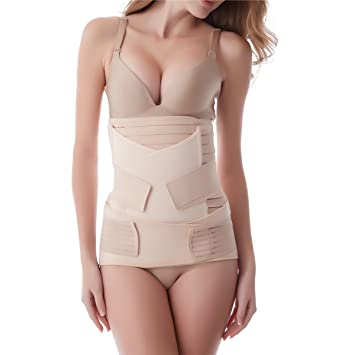 f4e7afd88b Aigori 3 in 1 Postpartum Support Recovery Belly Waist Pelvis Belt C Section  Recovery Belt Body