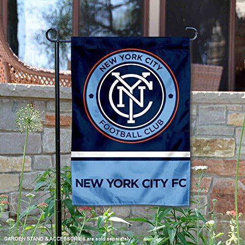 WinCraft New York City Football Club Double Sided Garden Flag