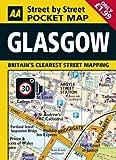 AA Pocket Map Glasgow (AA Street by Street)