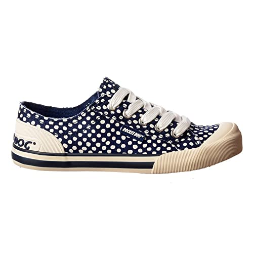 d0f476e3efb1 Rocket Dog Women s Jazzin Canvass Flat Lace Up Sneakers UK3 - EU36 - US5 -  AU4