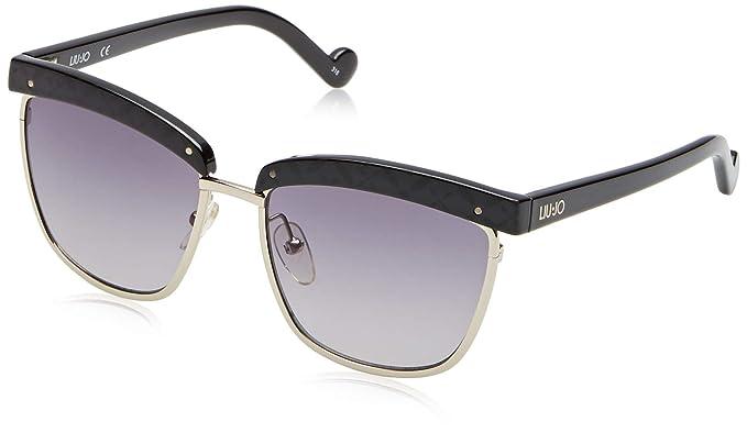 Liu Jo LJ662S 001 54 Gafas de sol, Ebony, Mujer: Amazon.es ...