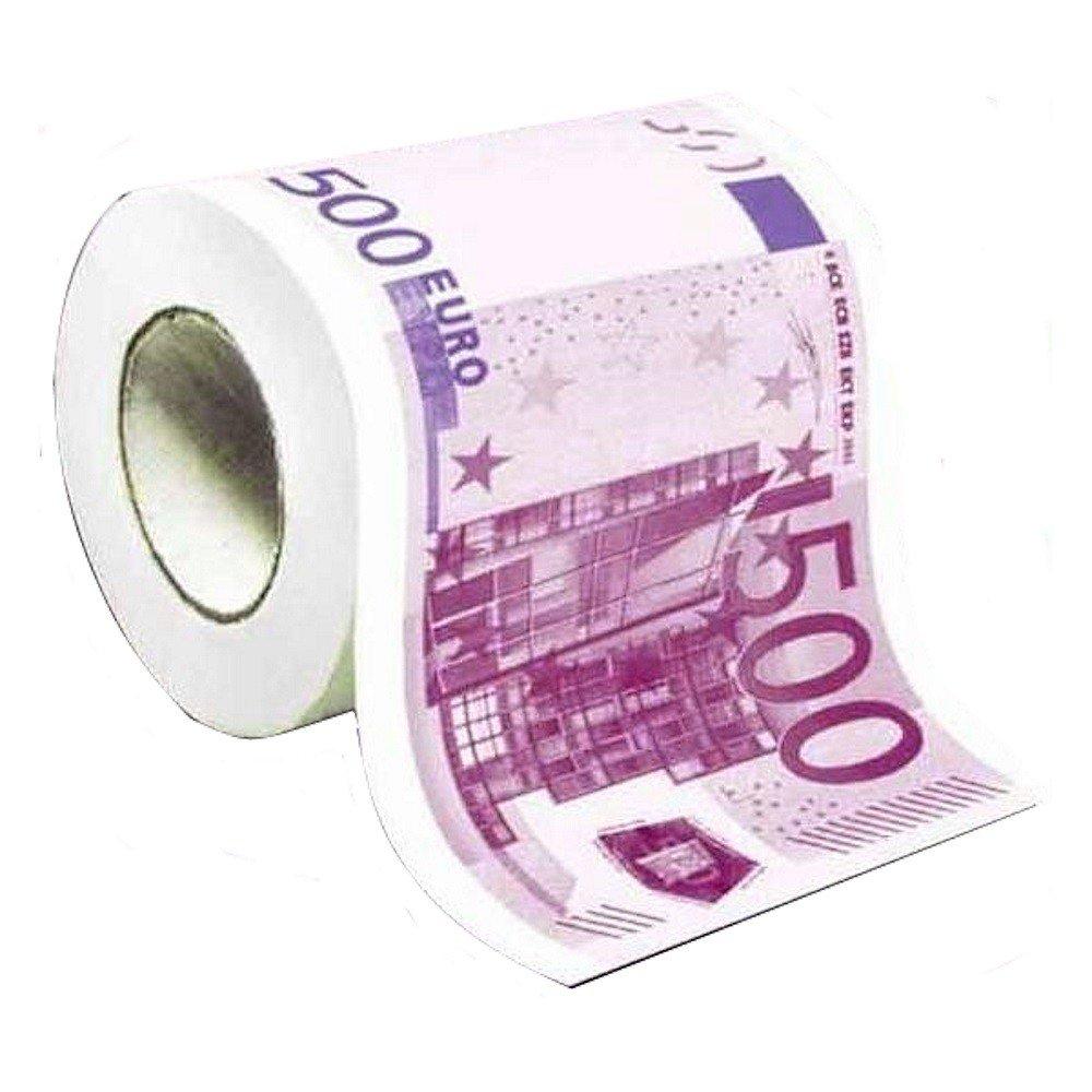 Generique Papel WC humor/ístico Billete 500 Euros