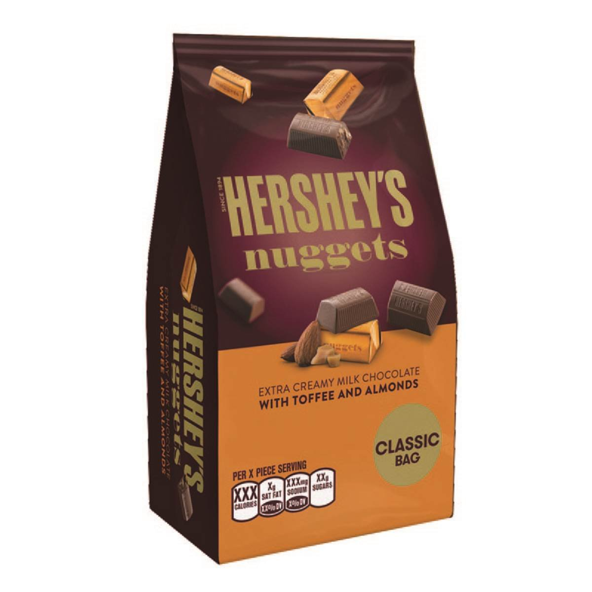 Amazon.com : HERSHEY'S Nuggets Chocolate Candy With