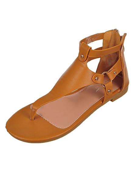 2430bafcd5dc60 Nicole Miller Girls  Sandals - rust