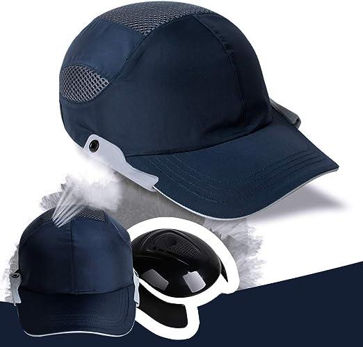 Gorra de béisbol, gorra de seguridad Fencia azul marino, gorras de ...
