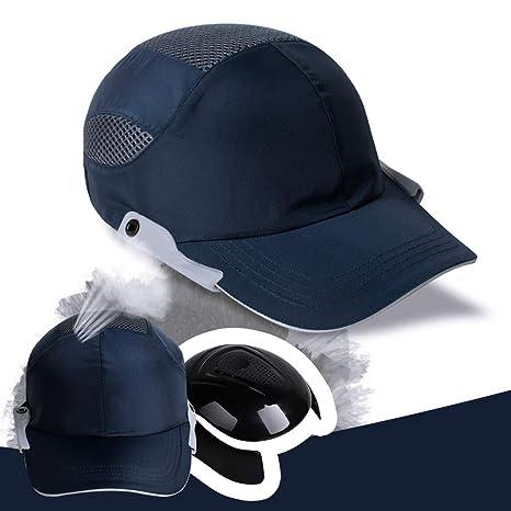 baseball bump cap fencia navy blue safety bump caps lightweight