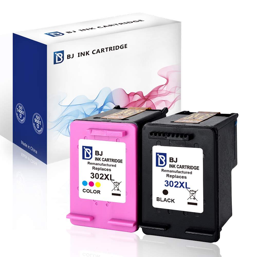 BJ - Cartucho de Tinta Reciclado HP 302XL F6U68AE F6U67AE de Alto ...