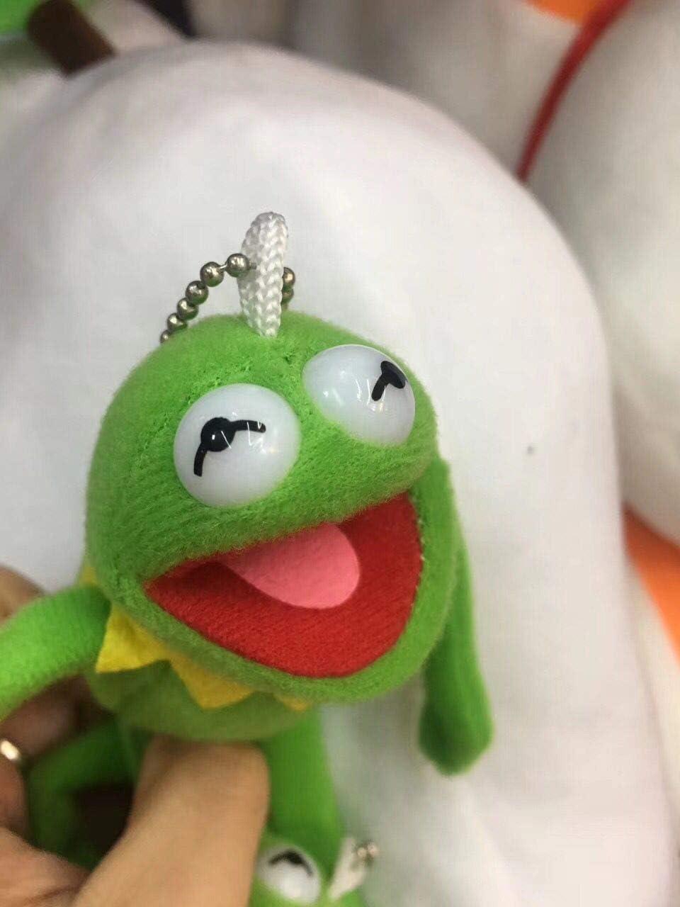 Kermit The Frog Metal Keychain Keyring