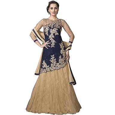 Amazon Com Pakistani Anarkali Shalwar Kameez Suit Wedding Dress