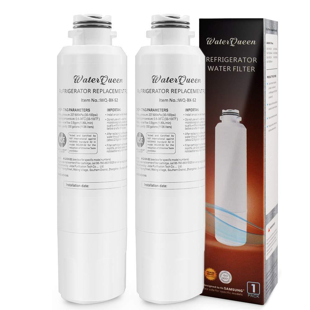 Pureking 46-9101 Water Filter For Samsung da29-00020b Refrigerator Water Filter da29-00020b-1, da2900020a/b, da2900020a, 04609101000, da-97-08006a, da-97-08006a-1, da-97-08006a-b, da29-00020b-1 Filter