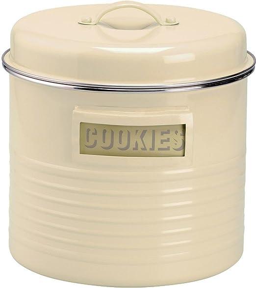 Typhoon Vintage Kit – grande para galletas lata/caja de almacenaje ...