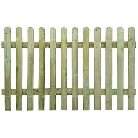 Vidaxl Recinzione Picchetto Steccato In Legno 200x120 Cm Staccionata