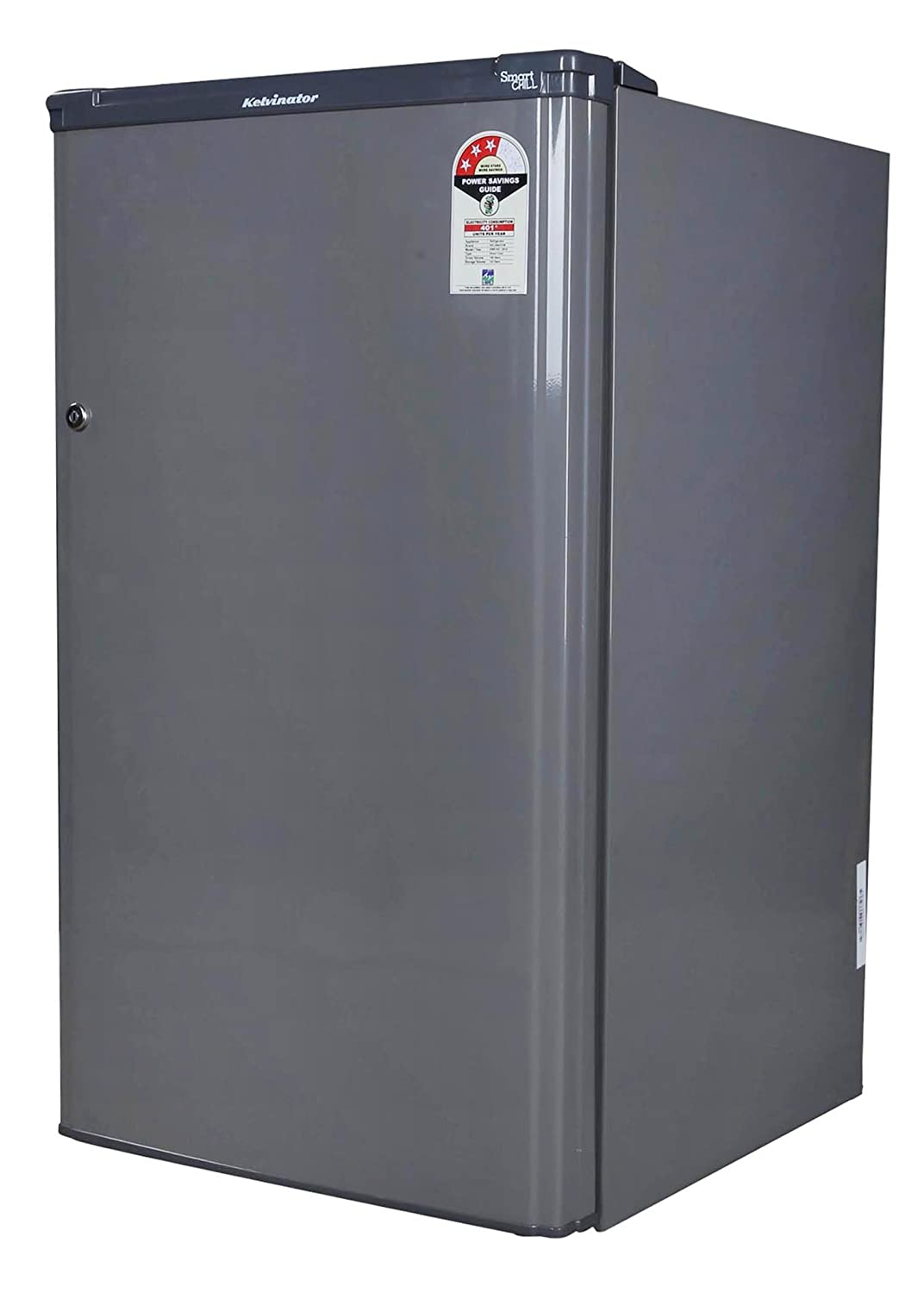 Kelvinator 150 L 3 Star Direct Cool Single Door Refrigerator Kwe163 Silver Hairline In Home Kitchen