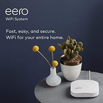 2 Pack B010201 New Eero White ac Tri Band Wi-fi Access Point