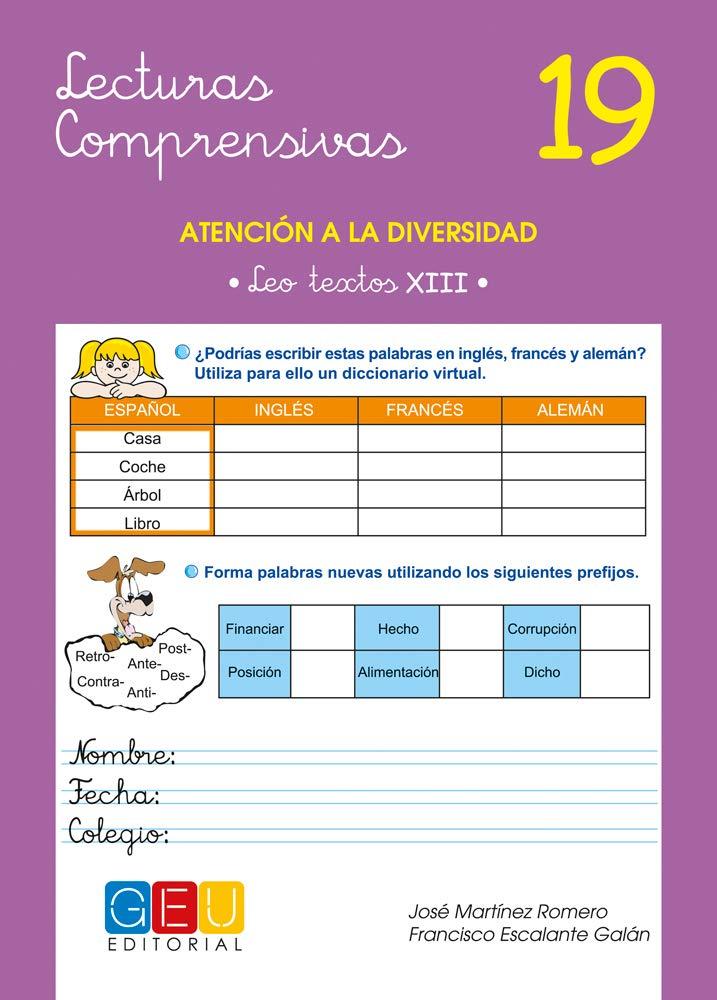 Lecturas comprensivas 19 / Editorial GEU / 6º Primaria ...