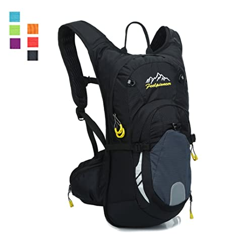 6cf160ee5041 Daxvens 15L Cycling Backpack with Chest Waist Strap for Youth Boys Girls  Kids Women Men