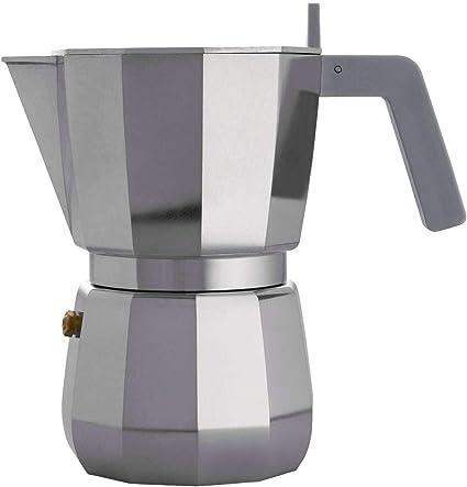 Alessi DC06/6 Cafetera expreso, aluminio: Amazon.es: Hogar