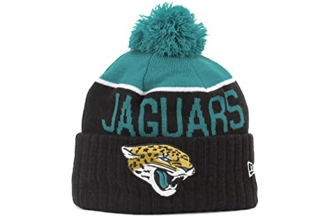 best service 1543f 7b33d Jacksonville Jaguars New Era 2015 NFL Sideline On Field Sport Knit Hat