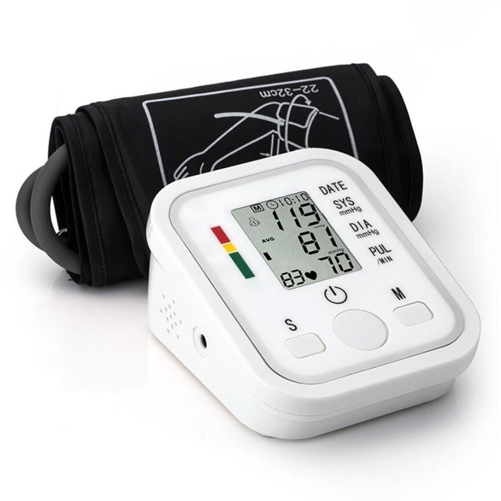 GAIHU Portátil Tensiómetro de brazo superior con Display LCD digital de carga USB utilizado por los profesionales y usuarios domésticos esfignomanómetro: ...