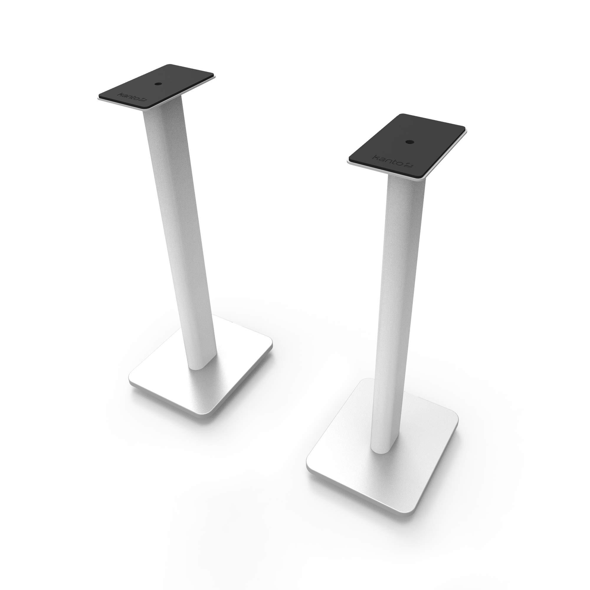 Kanto SP26PLW 26'' Bookshelf Speaker Stands, White