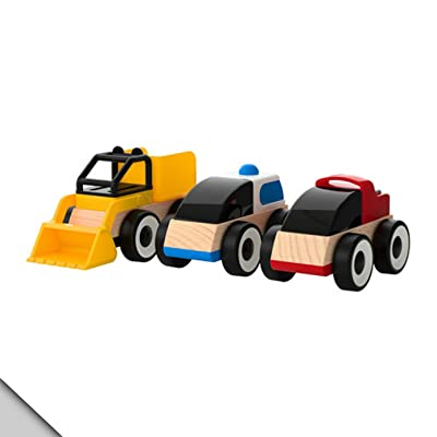 Ikea - Lillabo Toy Vehicles / 3 Pack: Toys & Games