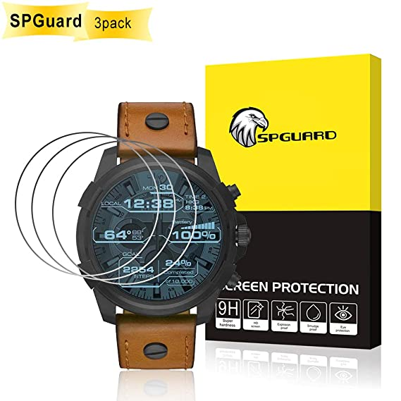 SPGuard Protector Pantalla Diesel 2.5 Touchscreen [3 piezas ...