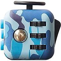 SSLLC Cube Fidget kubleksak fidget leksaker stress Squeeze Leksaker anti-anxiety fidgetleksaker för barn, tonåringar…