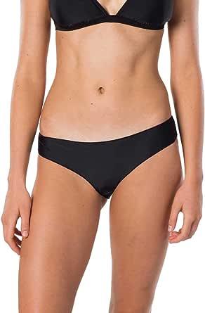Rip Curl Women's SURF Essentials Cheeky PT, Black, S