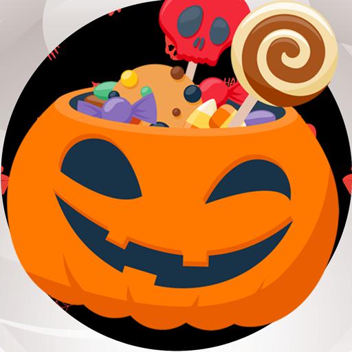 Halloween Photo Collage -