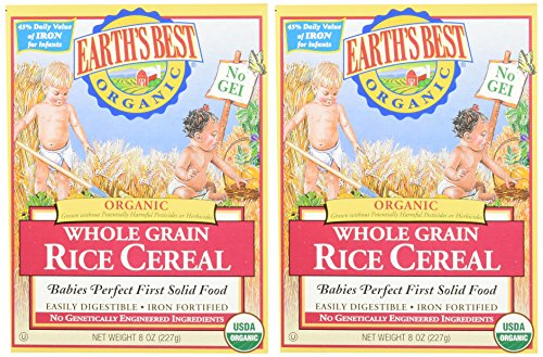 Buy earth's best baby cereal