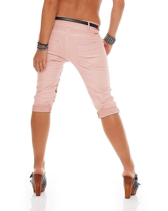 ZARMEXX Pantalones Capri para mujer Pantalones baggy para novio Pantalones vaqueros Pantalones capri estampados con estampado de mariposa Jeggings ...
