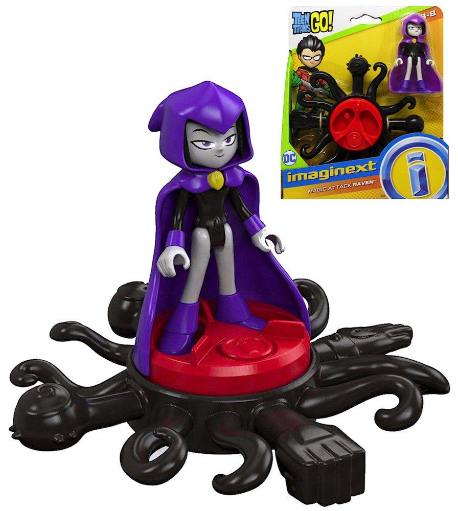 Teen Titans Go Magic Attack Raven Imaginext Figure 2.5 New 2018