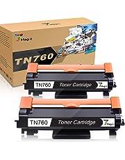 TN-760 CHIP TN730 Toner Cartridge Compatible Brother TN760 High Yield Black Toner Cartridge Brother DCP-L2550DW, HL-L2350DW, HL-L2370DW, HL-L2370DWXL, HL-L2390DW, HL-L2395DW, MFC-L2710DW